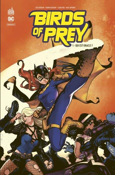 comics birds of prey