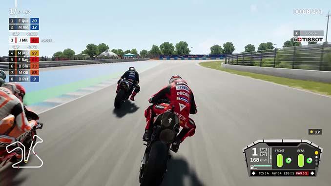 gameplay jeu de moto
