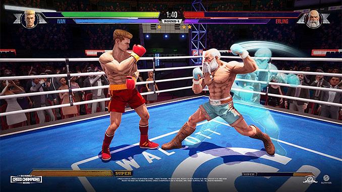 Big Rumble Booxing Creed Champions